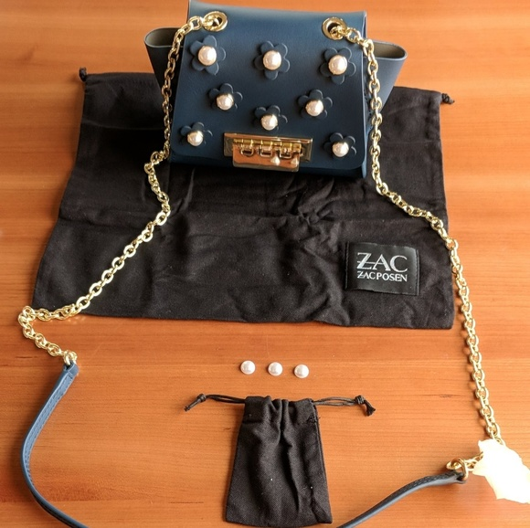 cdf2eb8723a ZAC Zac Posen Eartha Mini Chain Cross Body Bag